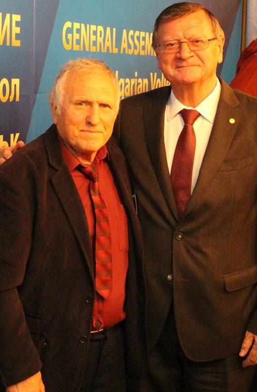 С президента на CEV Боршич