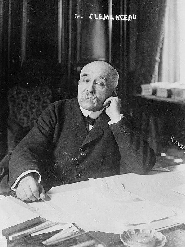 Жорж Клемансо, министър-председател на Франция 1917-1920 г.
