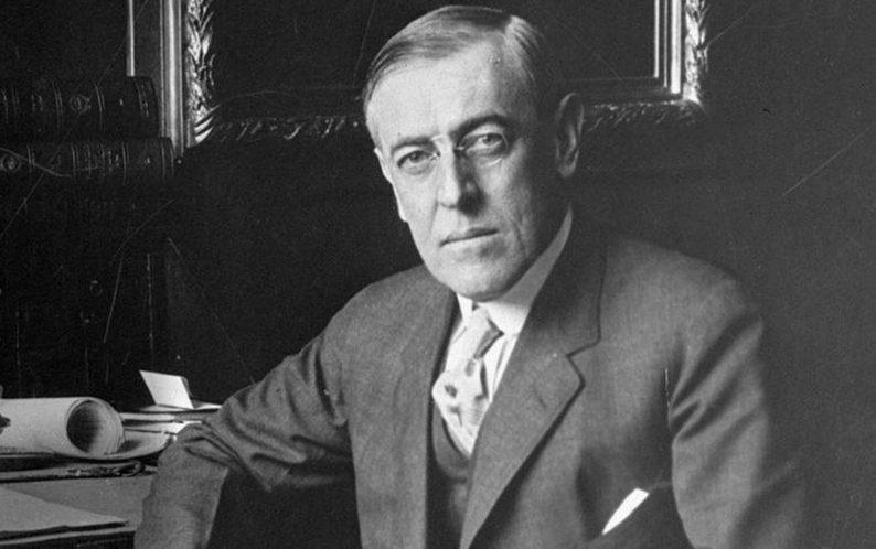 Томас Удроу Уилсън Президент на САЩ 1913-1921 г.