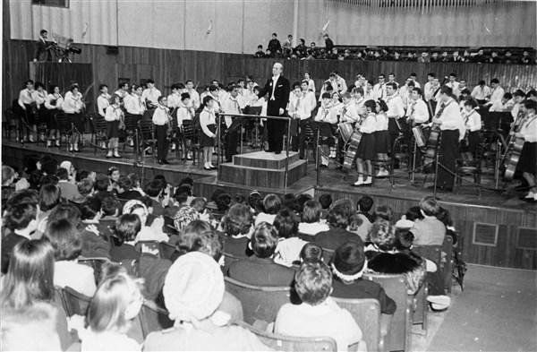"""Милано, зала """"Джузепе Верди"""", 1966 г."""